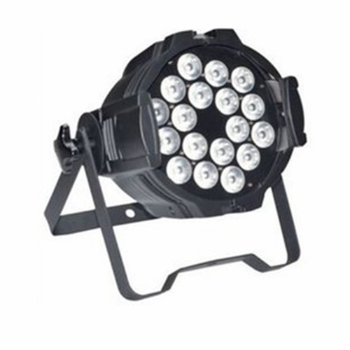 18pcs*9W RGB 3IN1 LEDs Full Color Indoor Par Can Lights