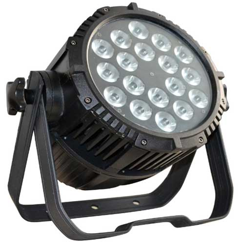 18pcs*3W RGBW LEDs Outdoor Waterproof Par Can Lights