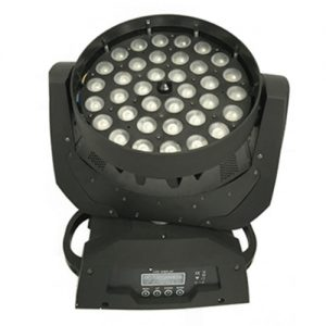36*3w led moving head washing light