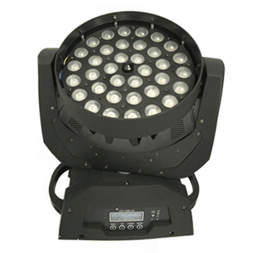 36*3w led moving head washing light